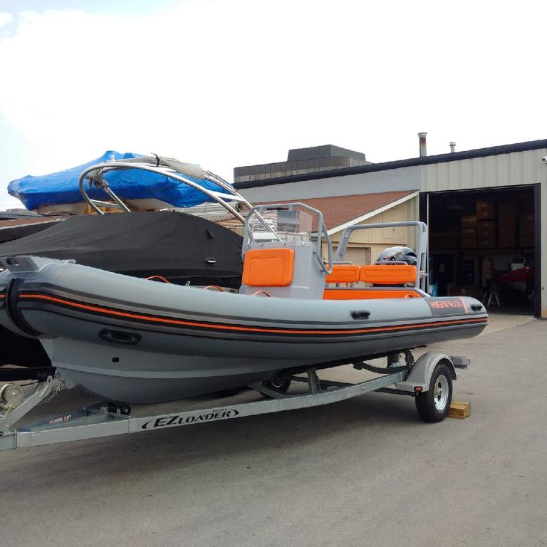 2018 Highfield boat for sale, model of the boat is OM 590 DL Hypalon Orca & Image # 2 of 4