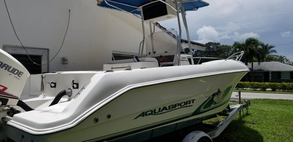 2001 Aquasport boat for sale, model of the boat is 205 Osprey & Image # 2 of 10