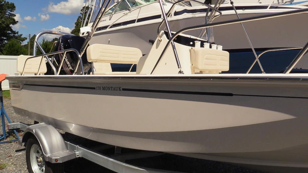 2019 Boston Whaler boat for sale, model of the boat is 170 Montauk & Image # 3 of 24