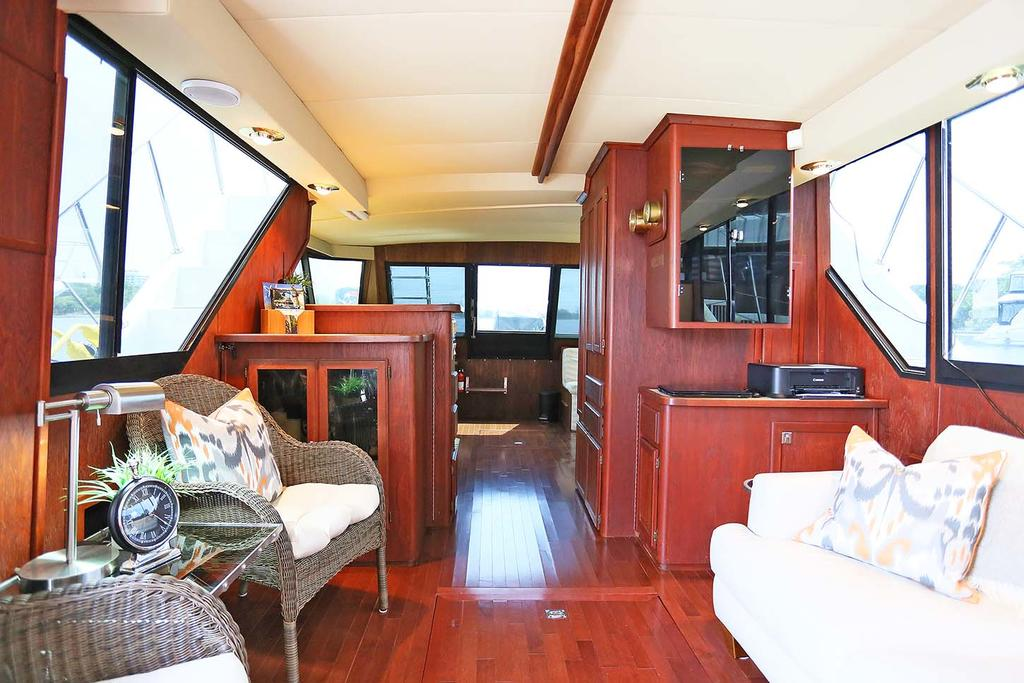 1988 Blue Water boat for sale, model of the boat is 47 COASTAL CRUISER & Image # 8 of 11