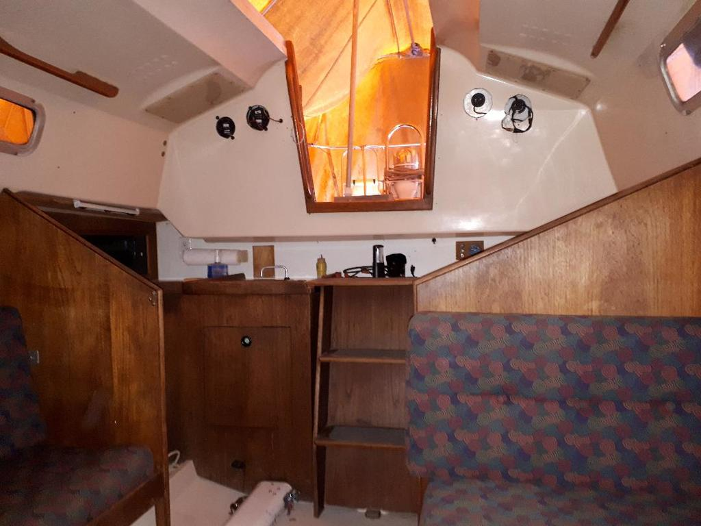 1974 C & C boat for sale, model of the boat is C & C 30 Mk I & Image # 7 of 11
