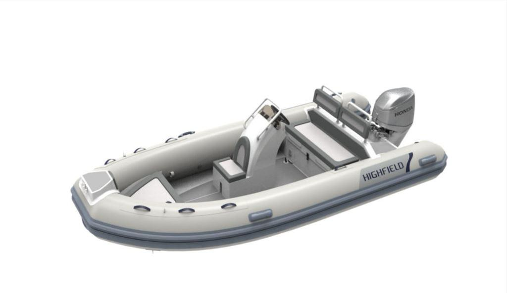 For Sale: 2018 Highfield Ocean Master 460 Deluxe 15ft<br/>Co2 Inflatable Boats - Oakville