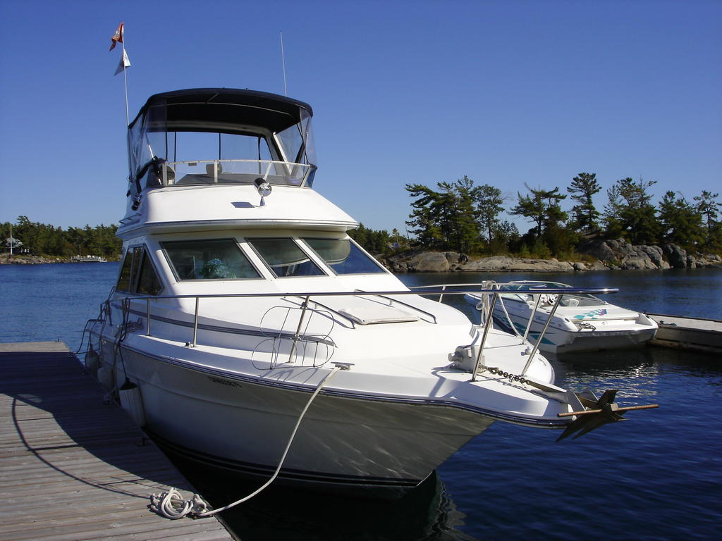 1989 Sea Ray boat for sale, model of the boat is 340 / 345 Sedan Bridge & Image # 2 of 52