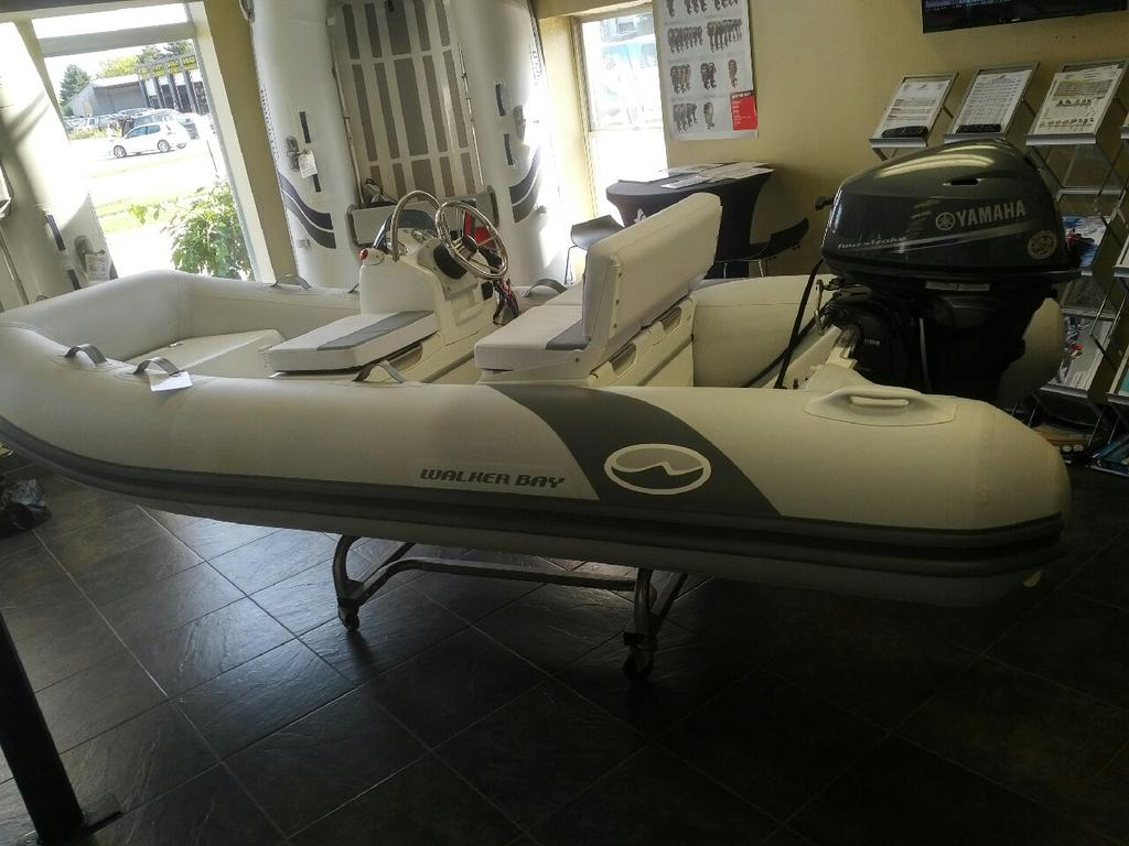 2018 Walker Bay boat for sale, model of the boat is 365 DLX & Image # 2 of 3