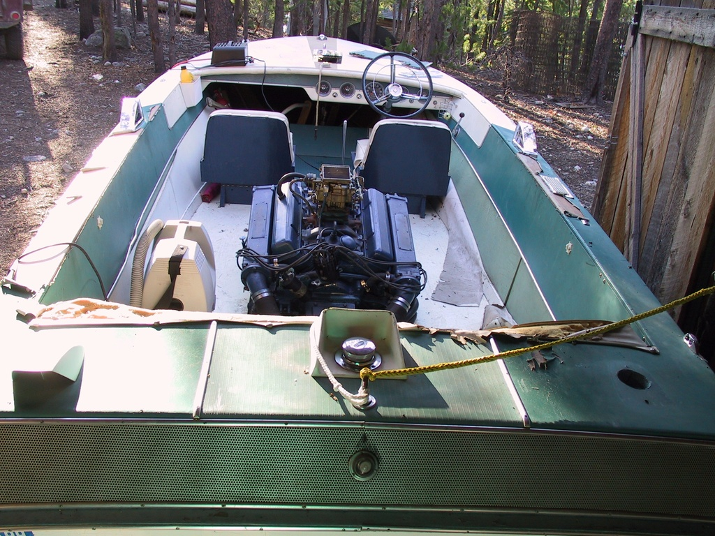 1961 Chris Craft boat for sale, model of the boat is Cavalier & Image # 6 of 9