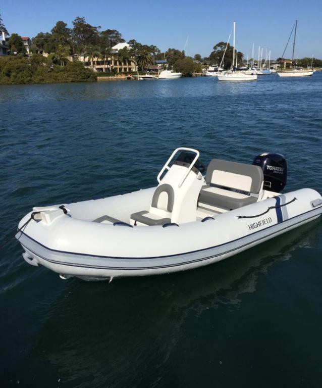 For Sale: 2018 Highfield Ocean Master 390 T Pvc 12ft<br/>Co2 Inflatable Boats - Oakville