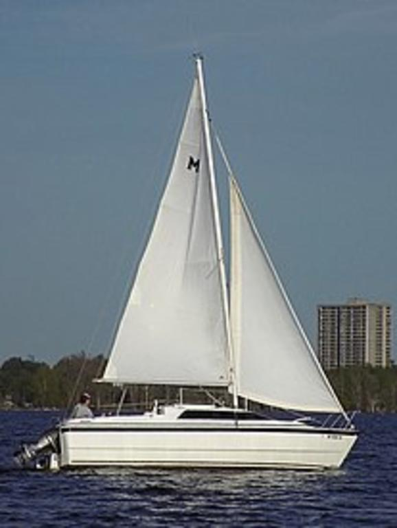 1997 Macgregor boat for sale, model of the boat is 26 & Image # 2 of 3