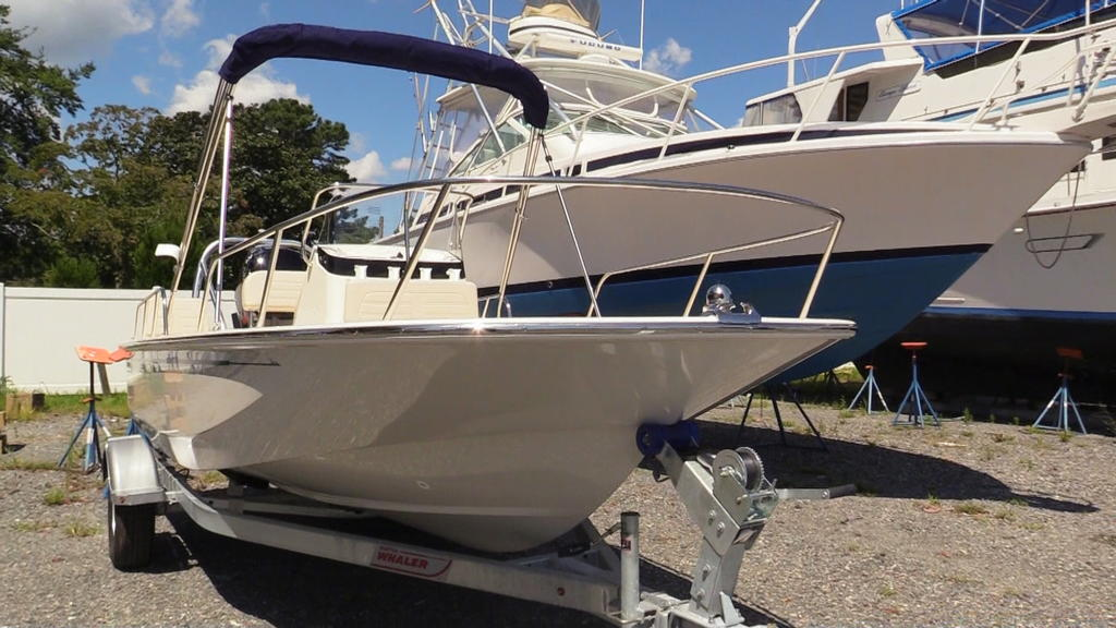 2019 Boston Whaler boat for sale, model of the boat is 170 Montauk & Image # 1 of 24