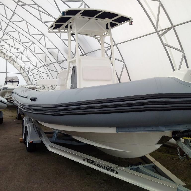 2018 Zodiac boat for sale, model of the boat is Pro 750 T Top & Image # 9 of 11