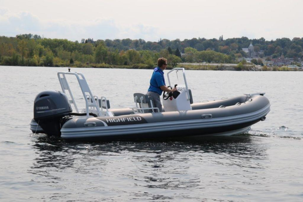 For Sale: 2018 Highfield Ocean Master 540 Deluxe Pvc 17ft<br/>Co2 Inflatable Boats - Oakville