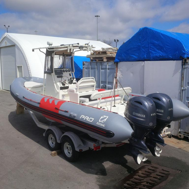 For Sale: 2018 Zodiac Pro 750 T Top 24ft<br/>Co2 Inflatable Boats - Oakville