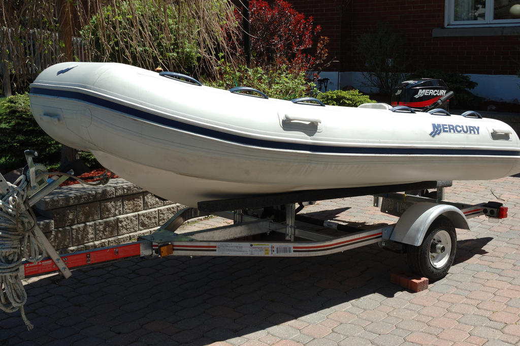 2007 Mercury Inflatables boat for sale, model of the boat is Ocean Runner 330 & Image # 1 of 7