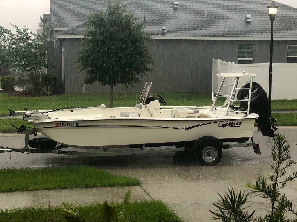 2019 Mako boat for sale, model of the boat is 17 Pro Skiff & Image # 2 of 3