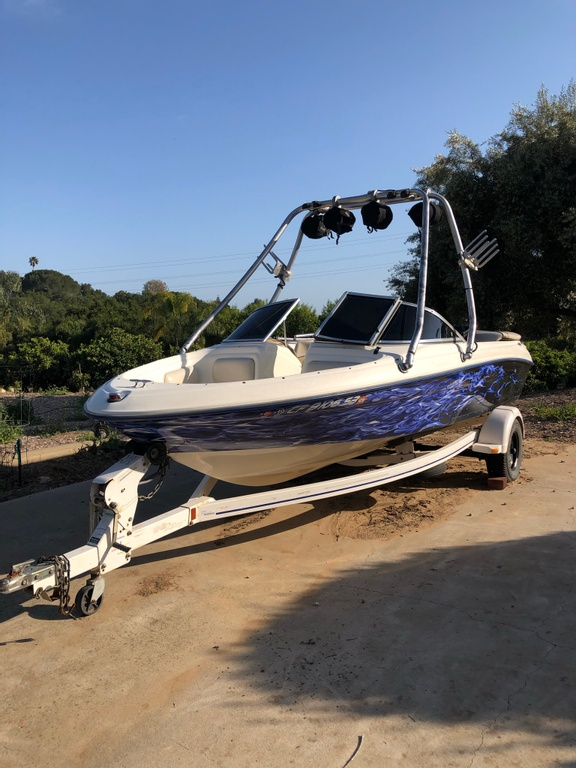 1997 Sea Ray boat for sale, model of the boat is 175 & Image # 6 of 12