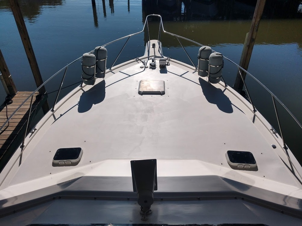 1989 Egg Harbor boat for sale, model of the boat is 37 Convertible & Image # 4 of 12