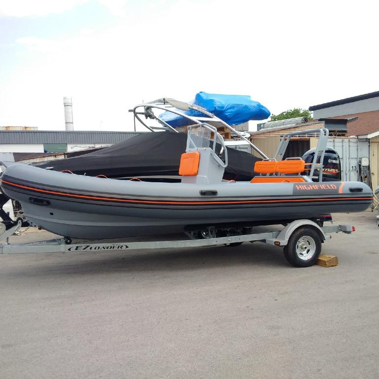 2018 Highfield boat for sale, model of the boat is OM 590 DL Hypalon Orca & Image # 3 of 4