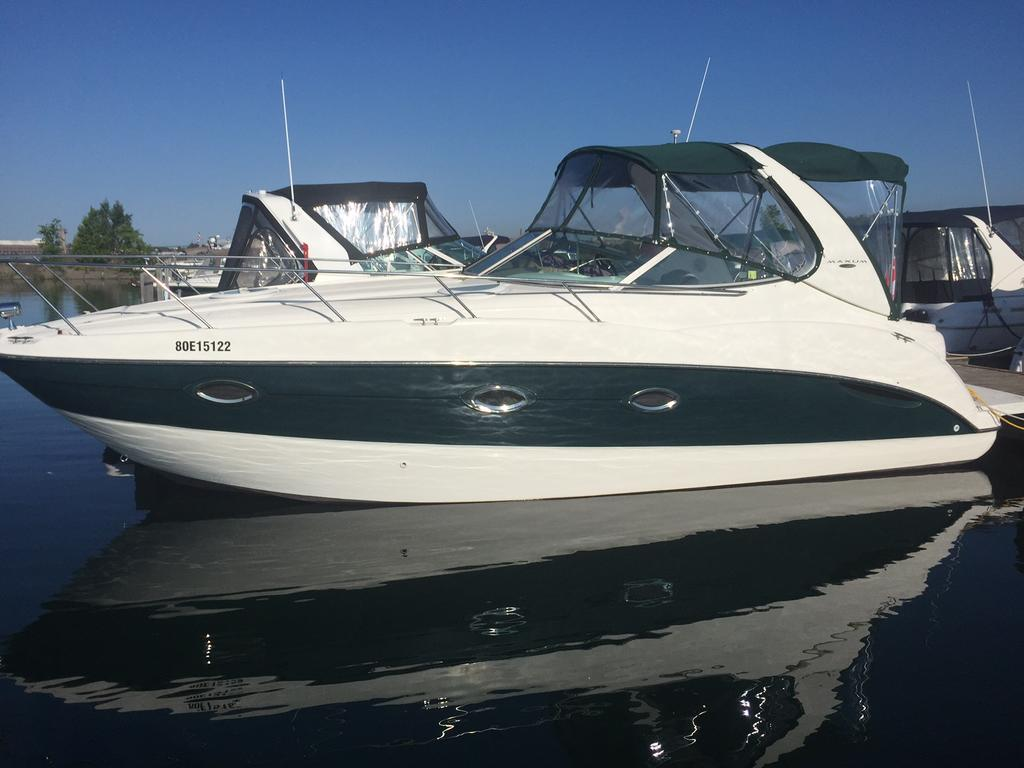 2002 Maxum boat for sale, model of the boat is SCR310 & Image # 8 of 8
