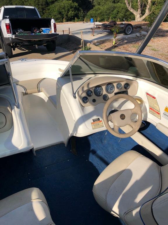 1997 Sea Ray boat for sale, model of the boat is 175 & Image # 4 of 12