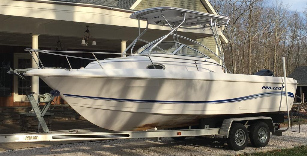 2005 Pro-Line boat for sale, model of the boat is 23 Walkaround & Image # 1 of 4