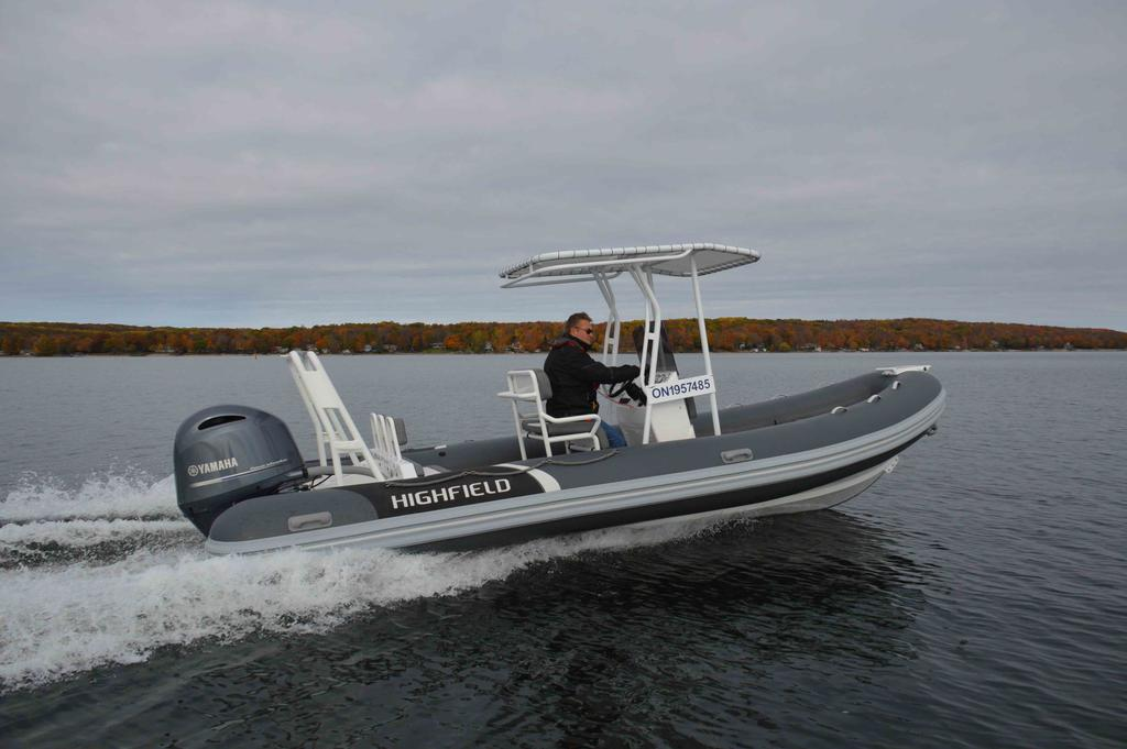 For Sale: 2018 Highfield Ocean Master 640 Deluxe Pvc 21ft<br/>Co2 Inflatable Boats - Oakville