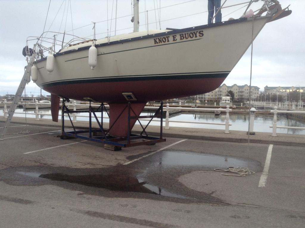 1982 Mirage boat for sale, model of the boat is 33 Sloop & Image # 3 of 15