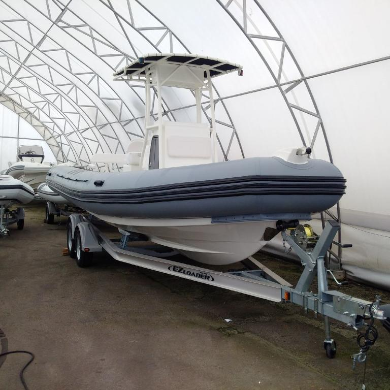 2018 Zodiac boat for sale, model of the boat is Pro 750 T Top & Image # 7 of 11