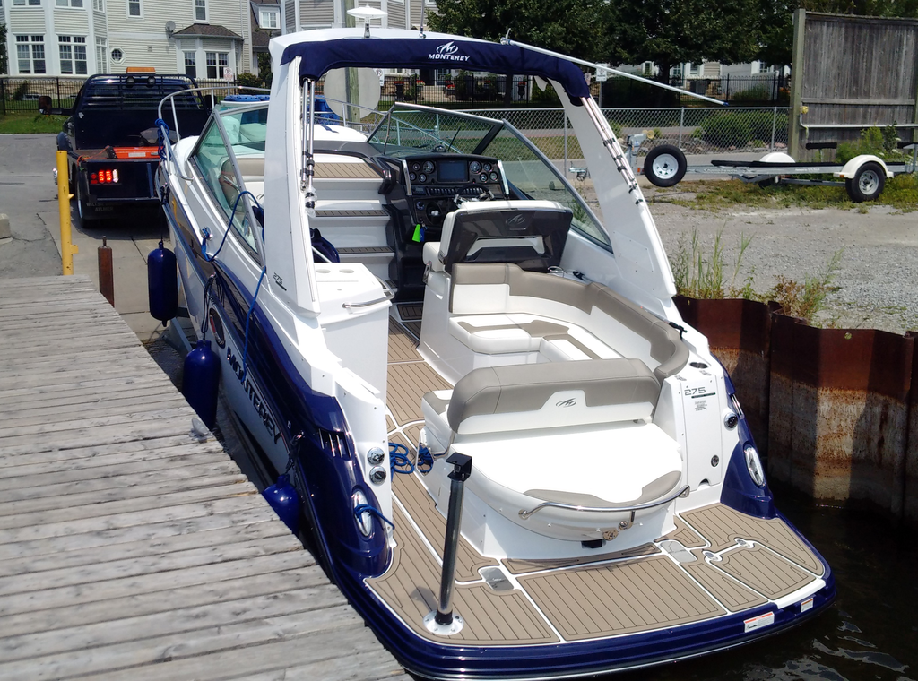 2018 Monterey boat for sale, model of the boat is 275SY & Image # 4 of 27