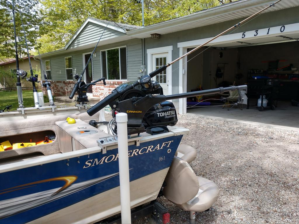 2008 Smoker Craft boat for sale, model of the boat is 161 Pro Angler & Image # 3 of 11