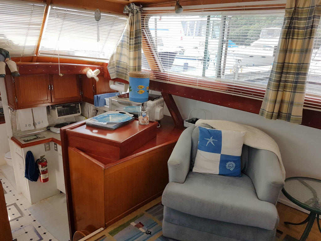 1957 Chris Craft boat for sale, model of the boat is 42 Constellation ACMY & Image # 12 of 13