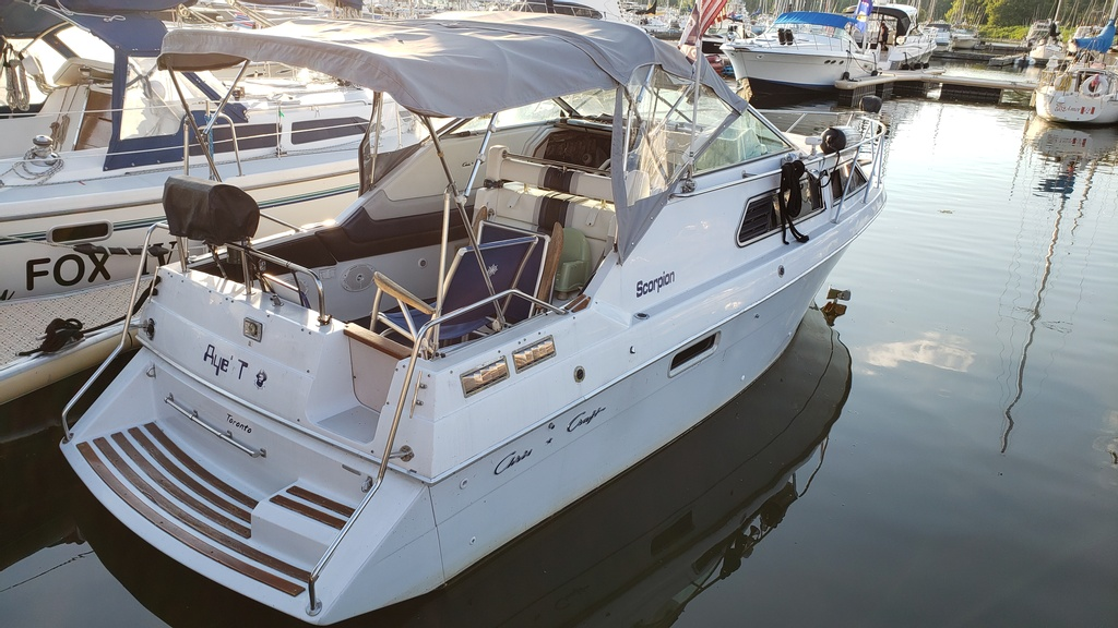 1986 Chris Craft boat for sale, model of the boat is Scorpion Aft Cabin & Image # 19 of 28