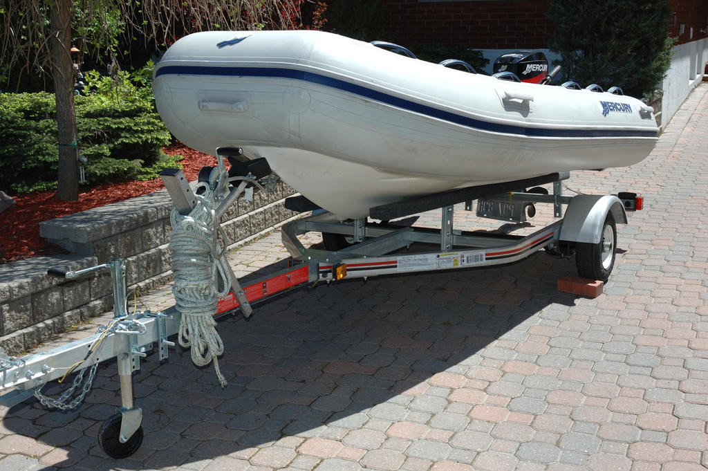 2007 Mercury Inflatables boat for sale, model of the boat is Ocean Runner 330 & Image # 5 of 7