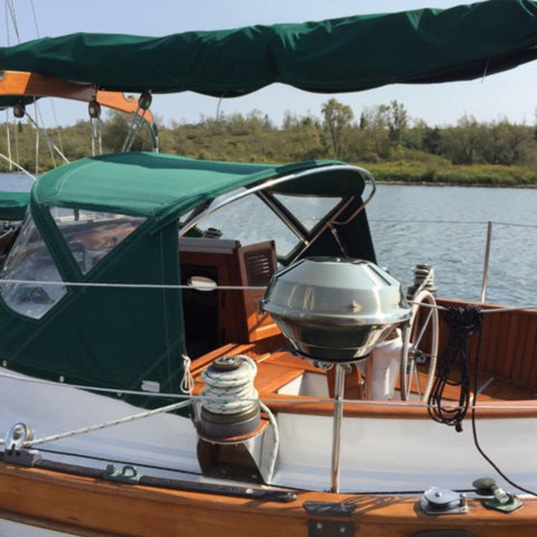 1984 Union boat for sale, model of the boat is 36 Cutter & Image # 7 of 21