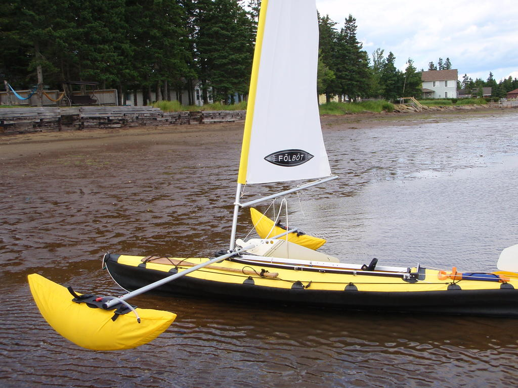 2003 Folbot boat for sale, model of the boat is Yukon with sail & Image # 1 of 6
