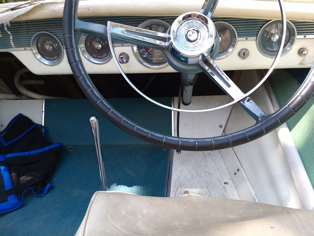1961 Chris Craft boat for sale, model of the boat is Cavalier & Image # 9 of 9