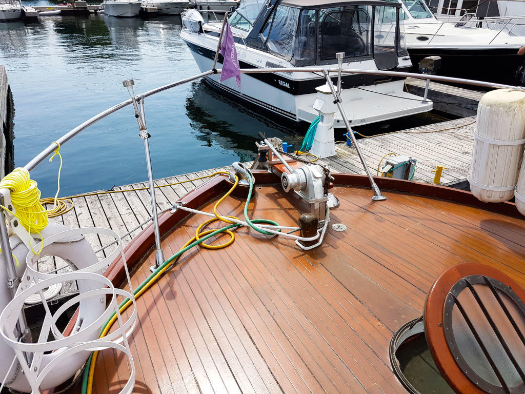 1957 Chris Craft boat for sale, model of the boat is 42 Constellation ACMY & Image # 6 of 13