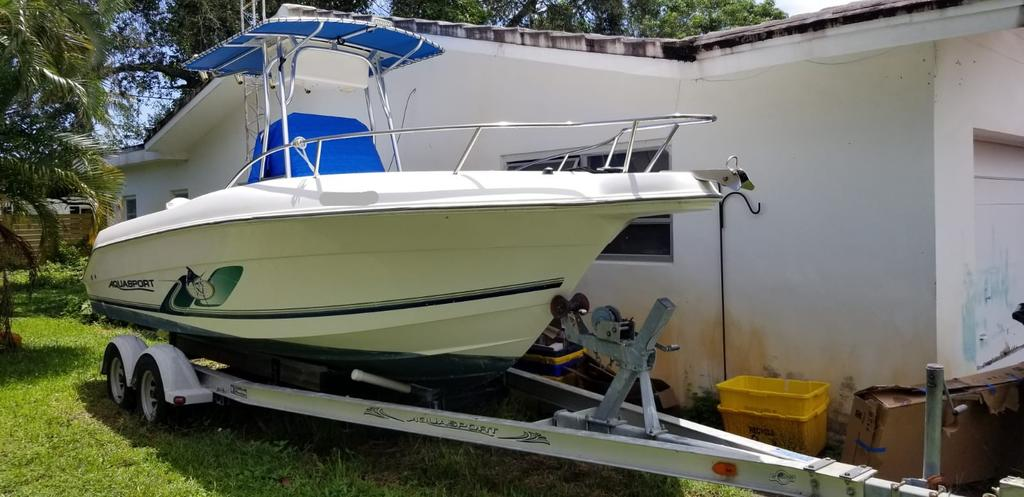 2001 Aquasport boat for sale, model of the boat is 205 Osprey & Image # 1 of 10