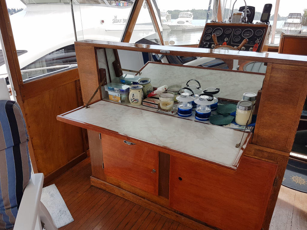 1957 Chris Craft boat for sale, model of the boat is 42 Constellation ACMY & Image # 3 of 13