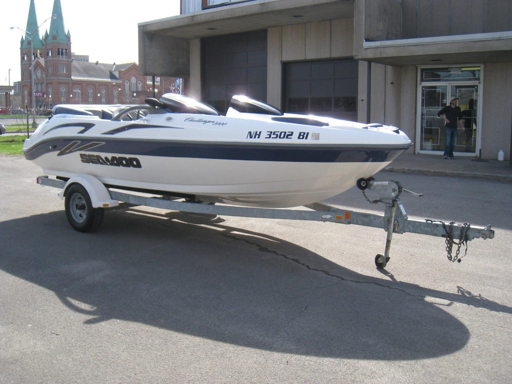 2001 Sea Doo Sportboat boat for sale, model of the boat is CHALLENGER & Image # 15 of 24