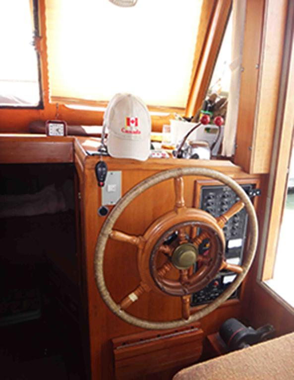 1986 Sea Lord boat for sale, model of the boat is 34 Double Cabin Trawler & Image # 6 of 10