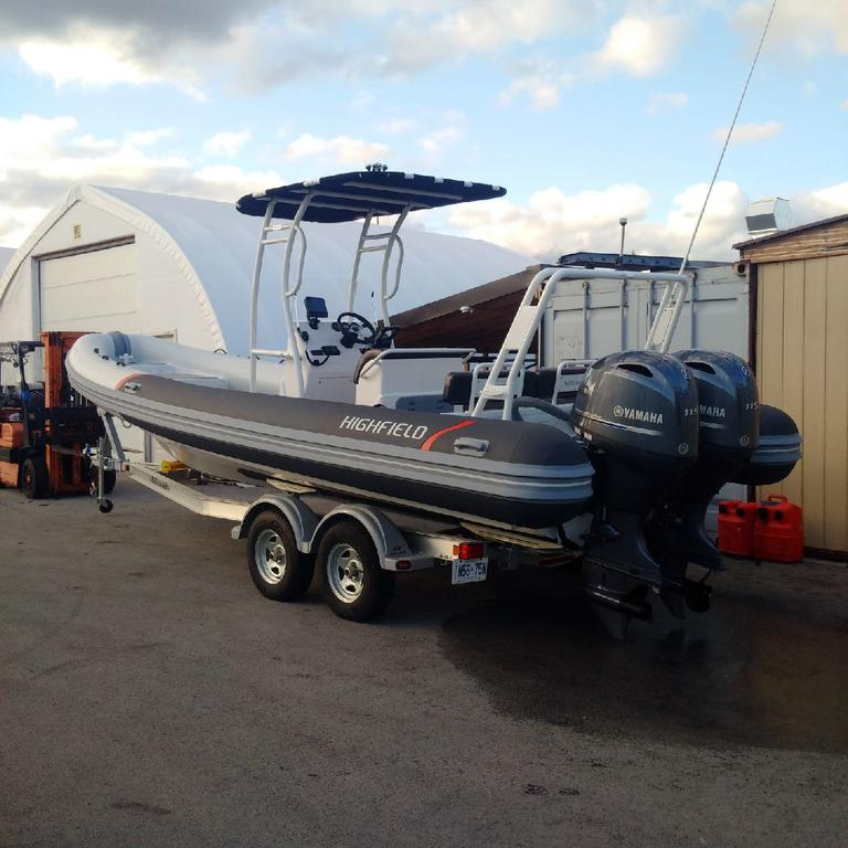 For Sale: 2018 Highfield Patrol 760 24ft<br/>Co2 Inflatable Boats - Oakville