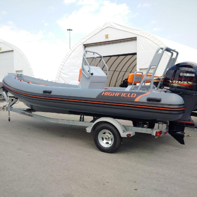 2018 Highfield boat for sale, model of the boat is OM 590 DL Hypalon Orca & Image # 1 of 4