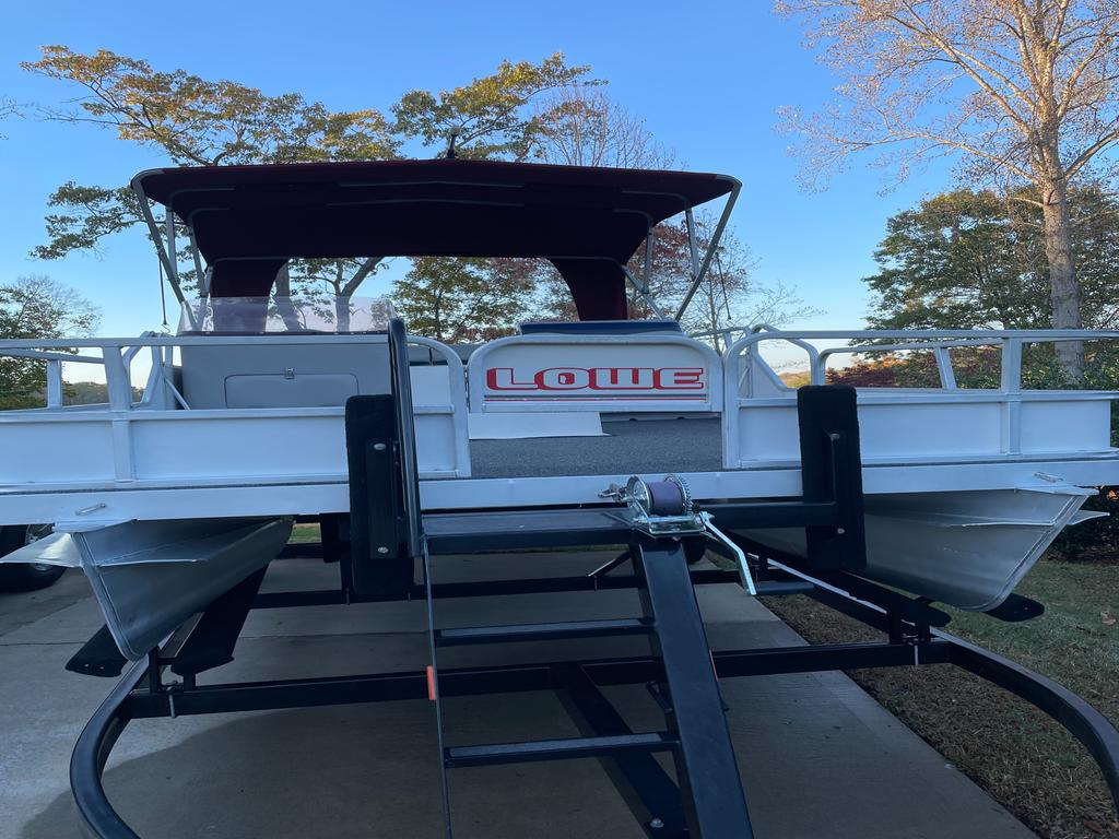 1989 Lowe boat for sale, model of the boat is RESTORED - ALL NEW WITH 40 HP, WITH TRAILER AND BOAT COVER & Image # 9 of 9