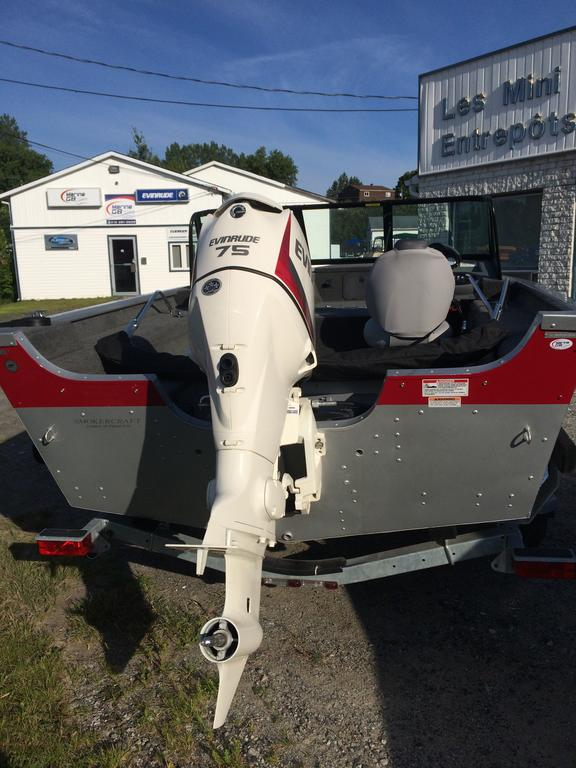 2016 Smoker Craft boat for sale, model of the boat is Pro Angler 162 XL & Image # 9 of 9
