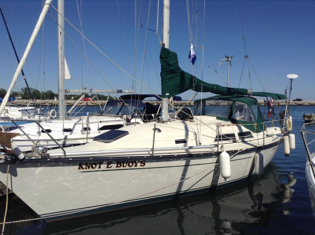 1982 Mirage boat for sale, model of the boat is 33 Sloop & Image # 1 of 15
