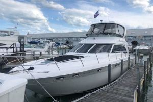2001 SEA RAY 480SEDANBRIDGE for sale
