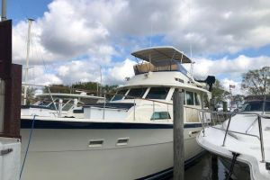 1987 HATTERAS 53 YACHT FISH for sale