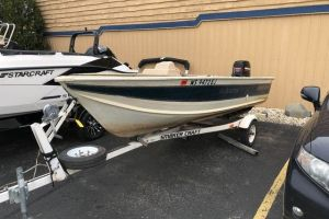 1997 SMOKER CRAFT 15 RESORTER for sale