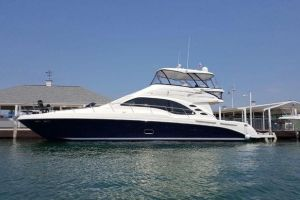 2008 SEA RAY 58 SEDAN BRIDGE for sale