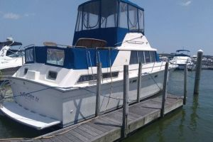 1989 SILVERTON 40 AFT CABIN for sale