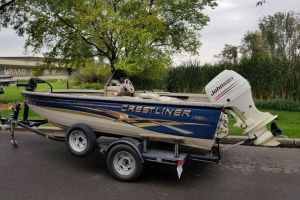 2003 CRESTLINER FISH HAWK for sale